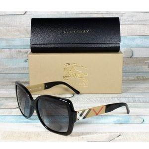 Burberry Women Blaze & Orchid 58mm Sunglasses NWT